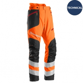 Husqvarna Buskrydder- og trimmerbukser, Technical High Viz